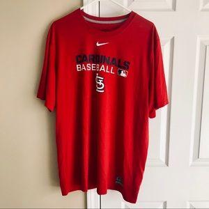 NIKE St Louis Cardinals Dri-Fit Tee ✨